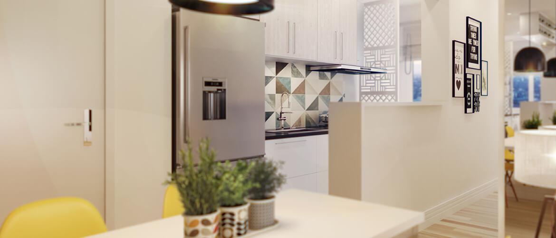 3D apê decorado 03 - Millennium Residence