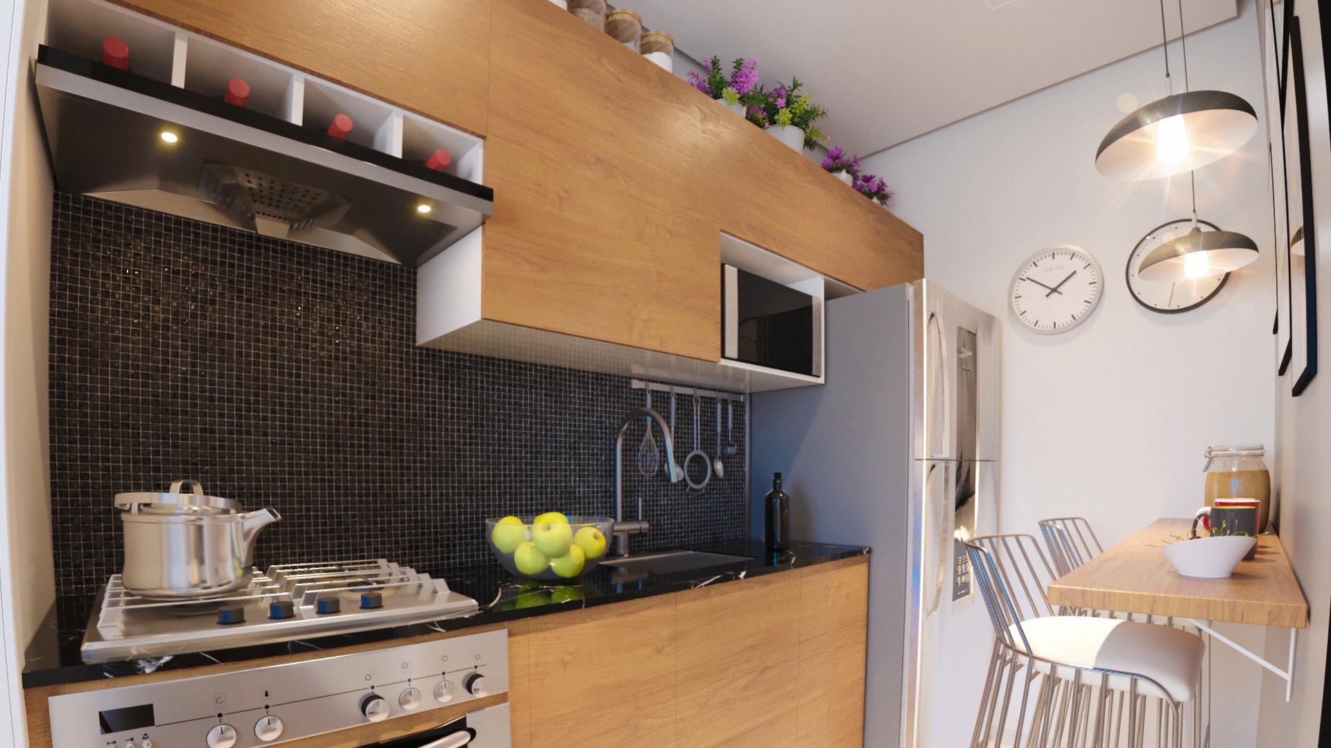 cozinha - Unique São Deocleciano