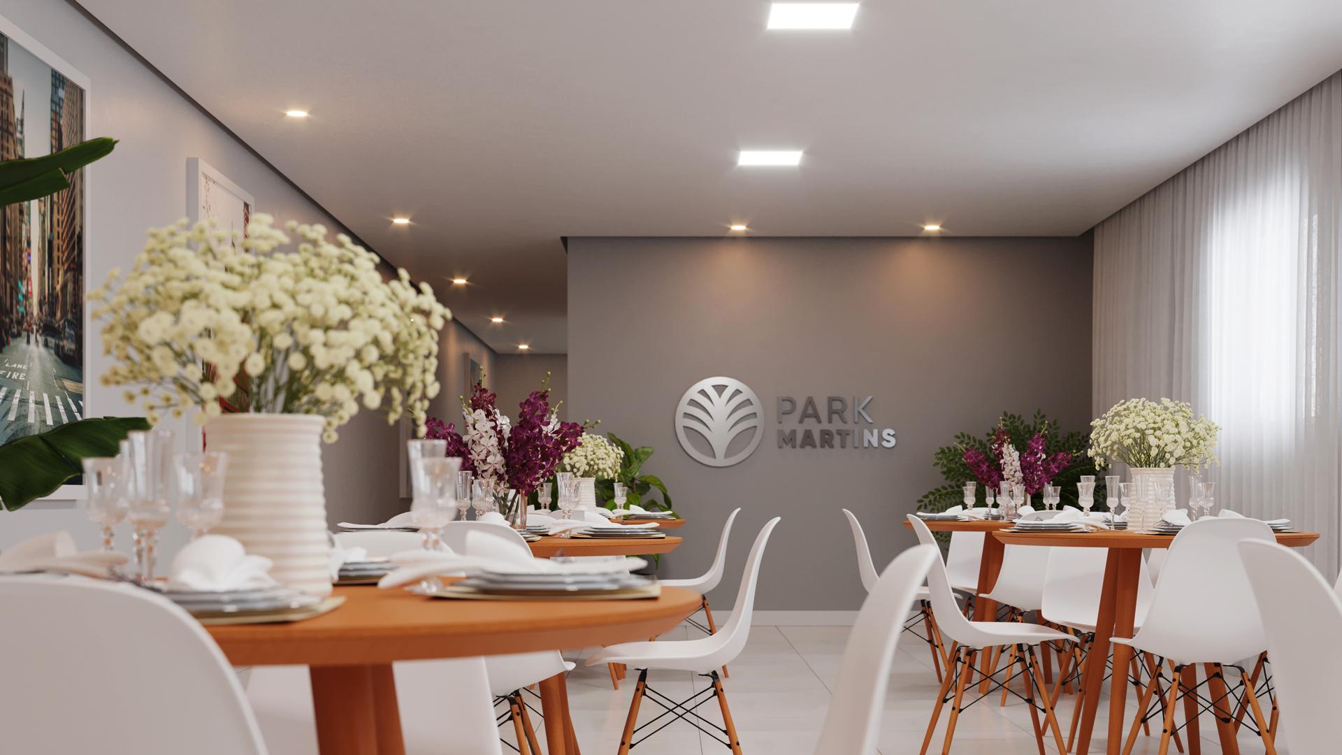 Salão de festa - Park Martins