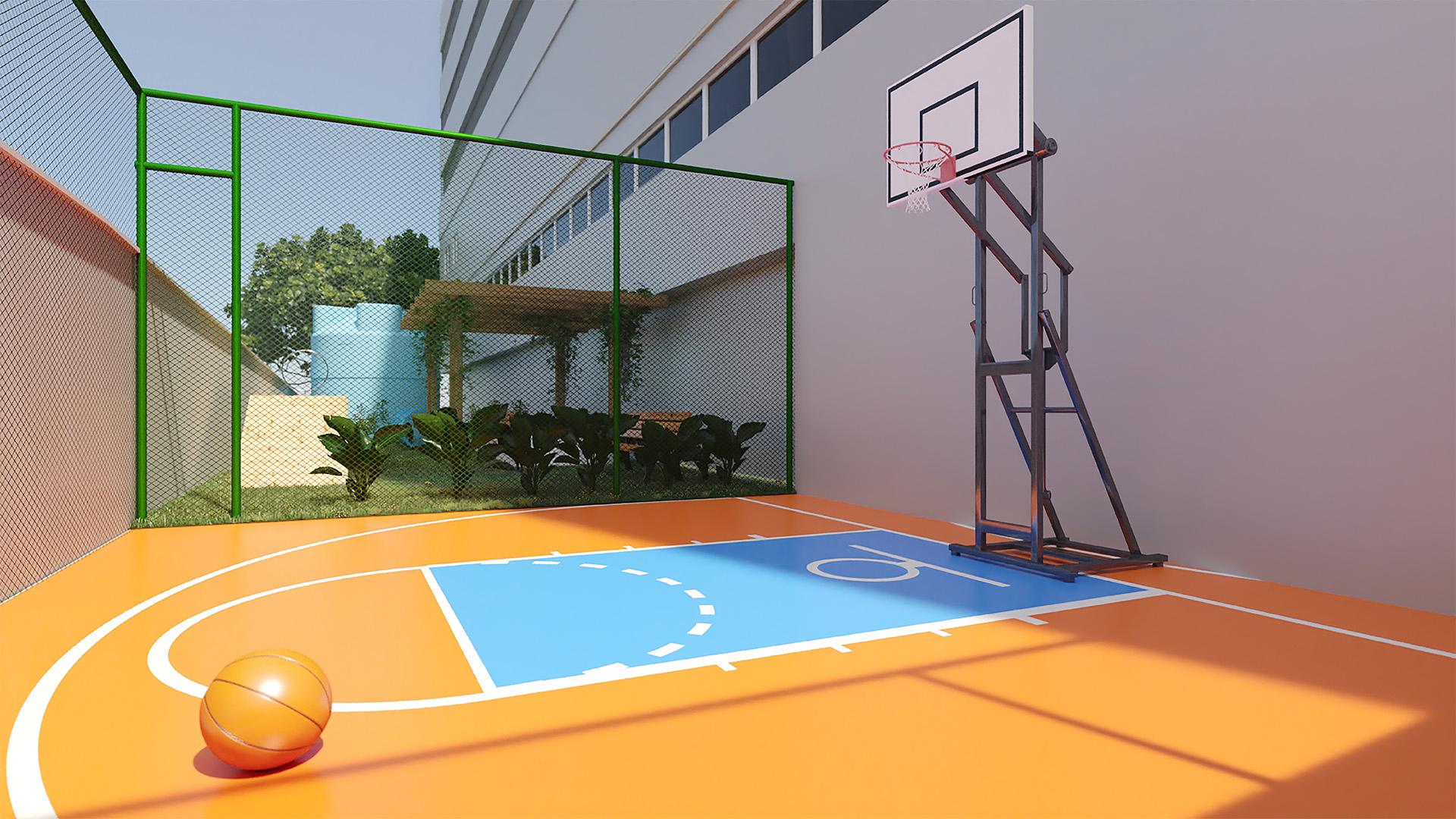 Quadra de basquete - Park Martins