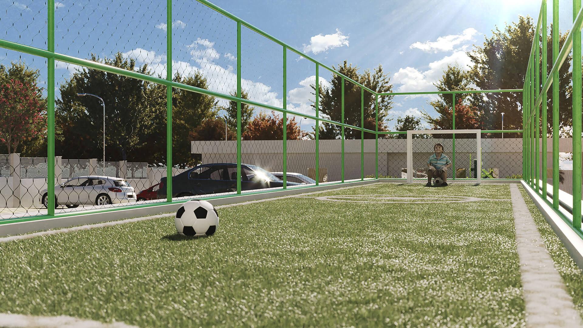 campinho de futebol - Park Karaiba