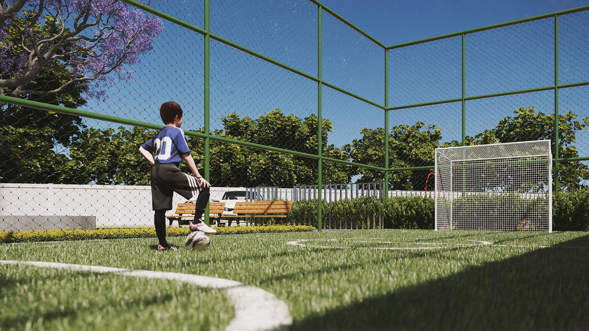 Campinho de futebol - Reserva Benfica