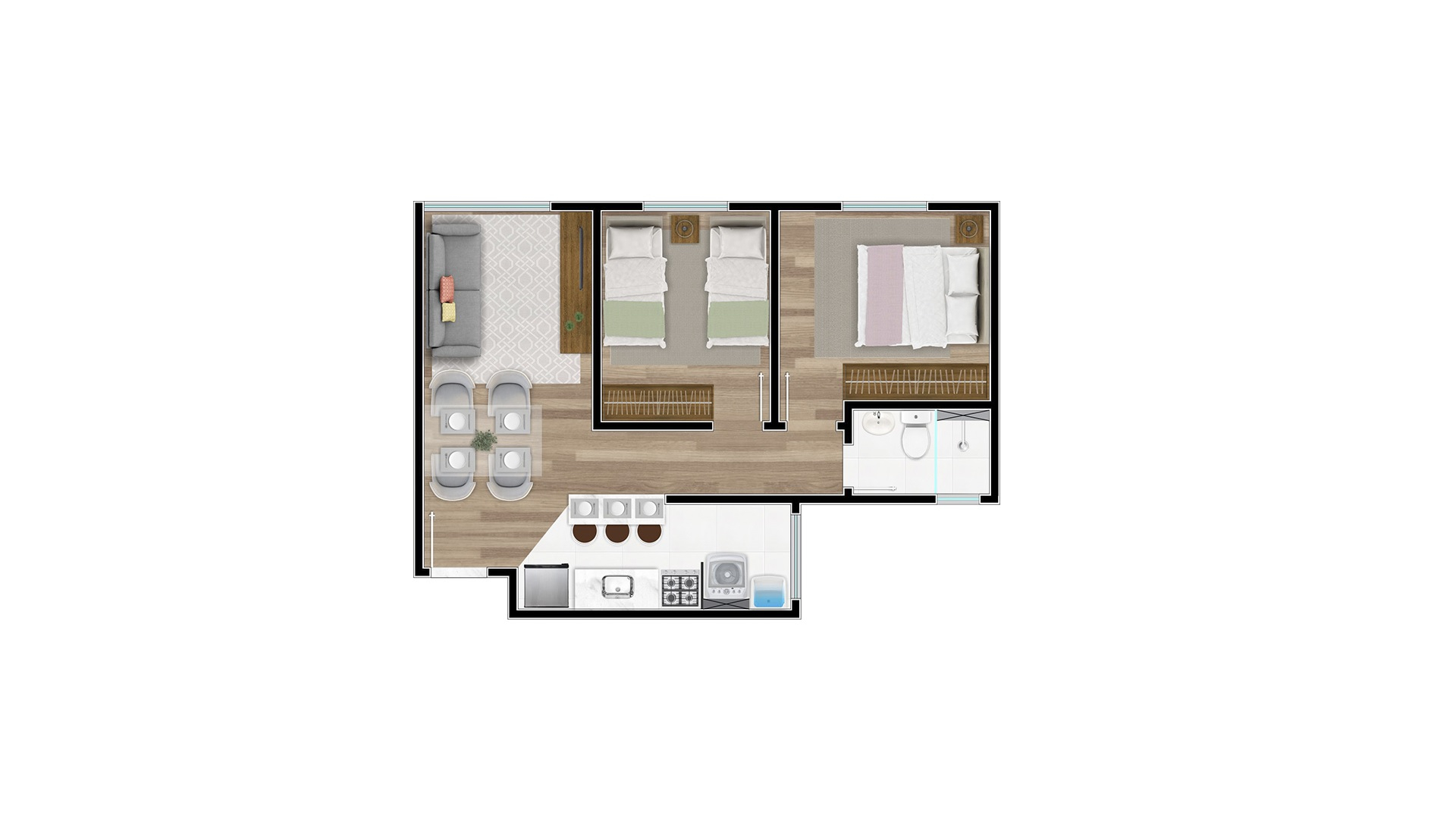 Tipo 2 - Millennium Residence